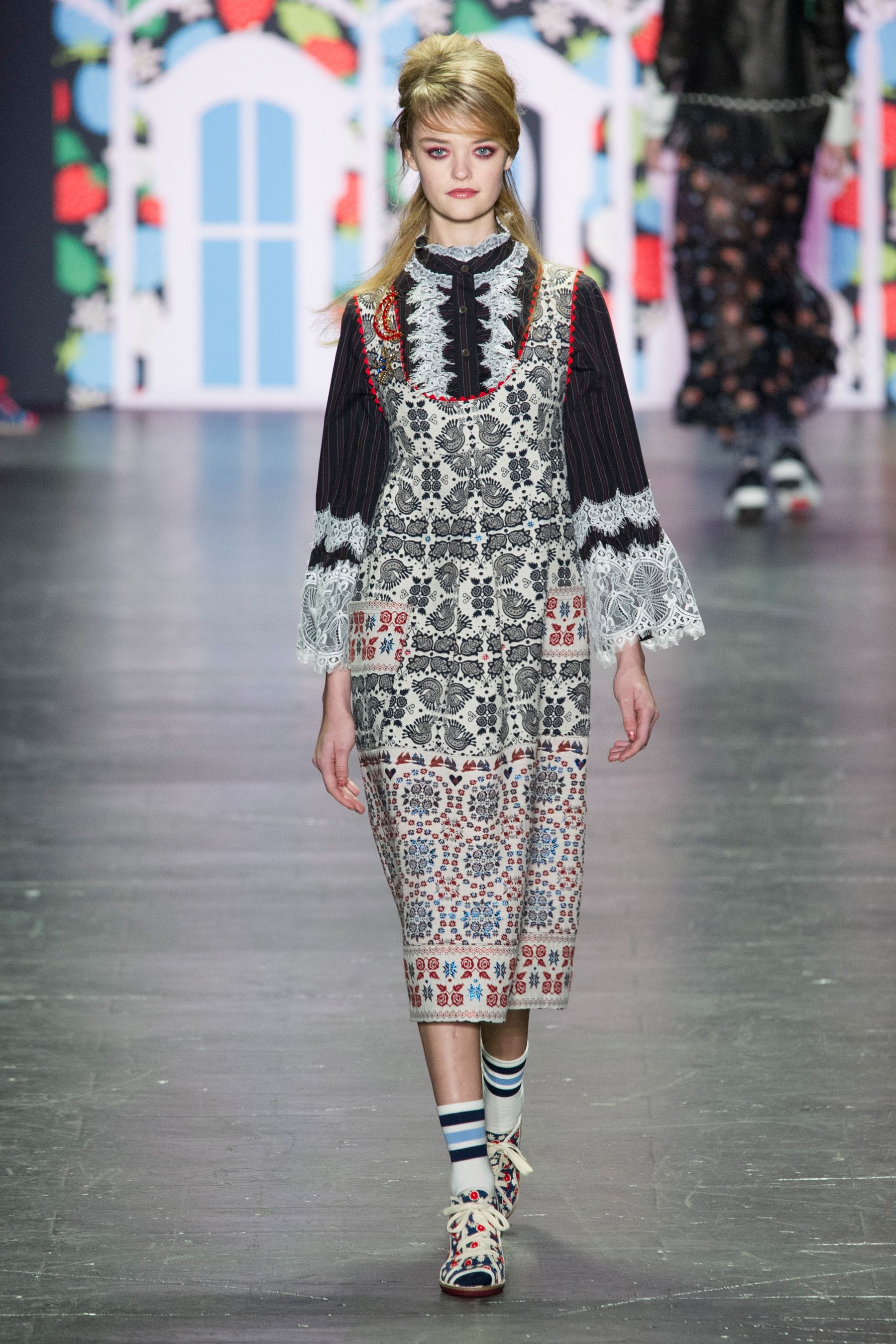 Anna Sui spring/summer 2017, New York Fashion Week
