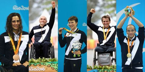 paralimpiadi 2016: le medaglie dell'italia a rio