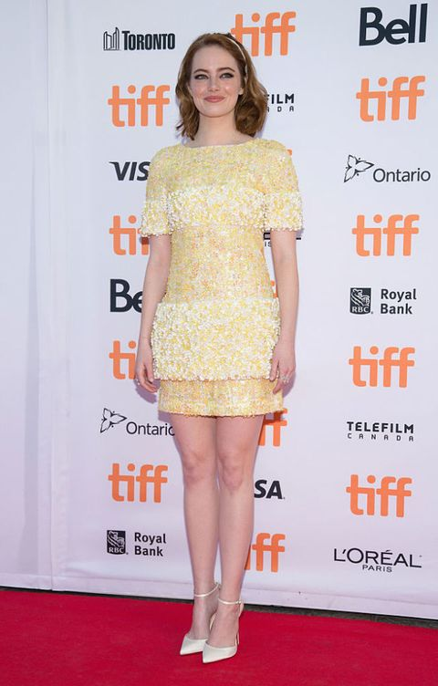 toronto film festival: abiti sul red carpet