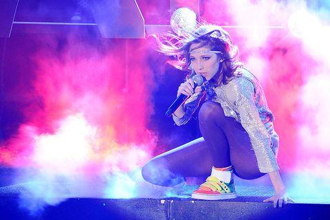 <p>Prima donna a vincere il talent, la romana dalla chioma rosso fuoco (come qualcun'altra che trionferà da lì a poco) ha vinto la finale di X Factor 4, portando alla vittoria, per la prima volta, anche il giudice Elio. Il suo ultimo disco è del 2013 e si intitola <em>Anima di vento</em>. Sta attualmente lavorando a nuove canzoni. </p>