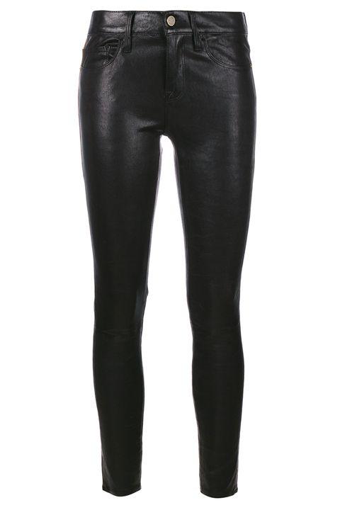 <p>Questi semplici pantaloni sono perfetti sia con scarpe da ginnastica che mocassini.</p><p>Pantaloni<strong> Fra</strong><strong>me Denim at Browns</strong></p>