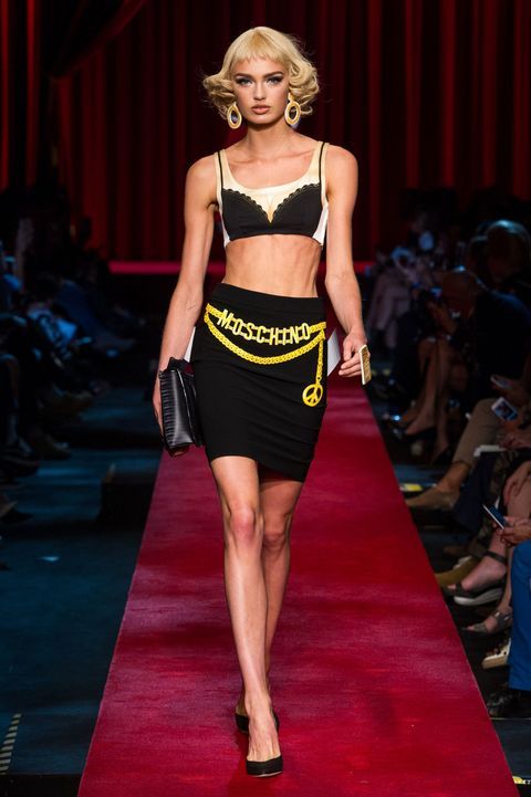 Moschino spring/summer 2017, Milan Fashion Week