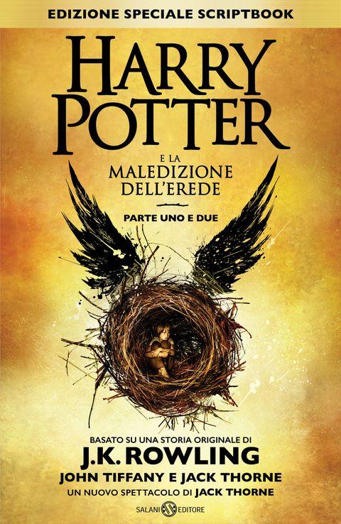 <p>Il libro <em>Harry Potter e la maledizione dell'erede</em> non è un romanzo, ma il copione di una rappresentazione teatrale, basata su un soggetto firmato da J.K. Rowling, insieme a John Tiffany e Jack Thorne. Il testo, uscito a fine luglio in Inghilterra, ha riscosso un incredibile successo.</p>