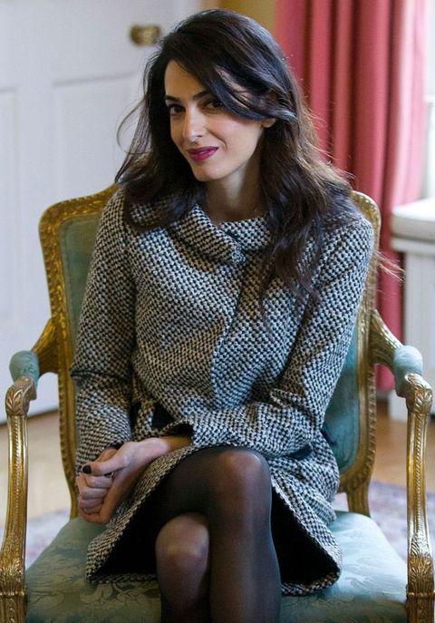 amal alamuddin: i look e lo stile