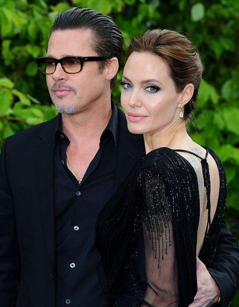 coppie famose 2016: divorzio angelina jolie e brad pitt