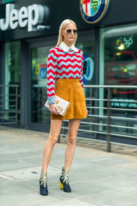 London fashion week: i look street style primavera estate 2017