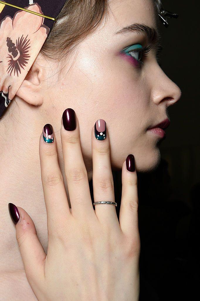 manicure: nail art idee autunno inverno 2016