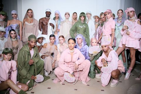 Fenty x Puma by Rihanna spring summer 2017 show - Paris Fashion Week