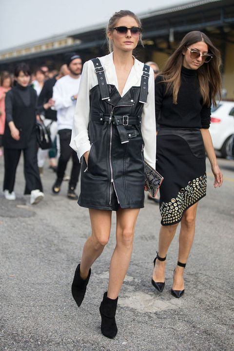 olivia palermo: i look street style alla fashion week