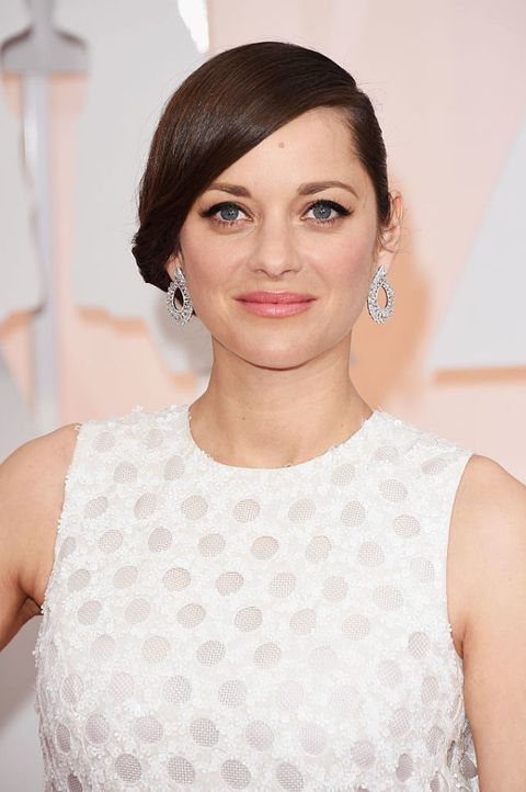 Marion cotillard: beauty look