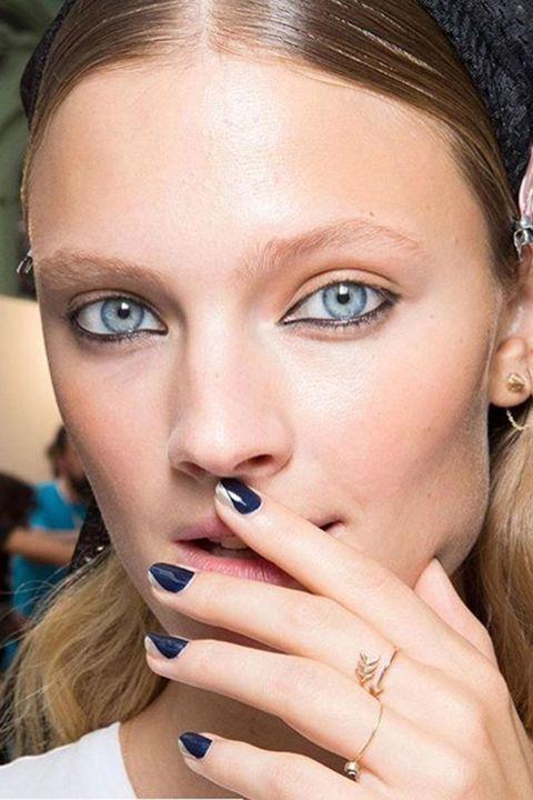 Mugler nail trends ss17