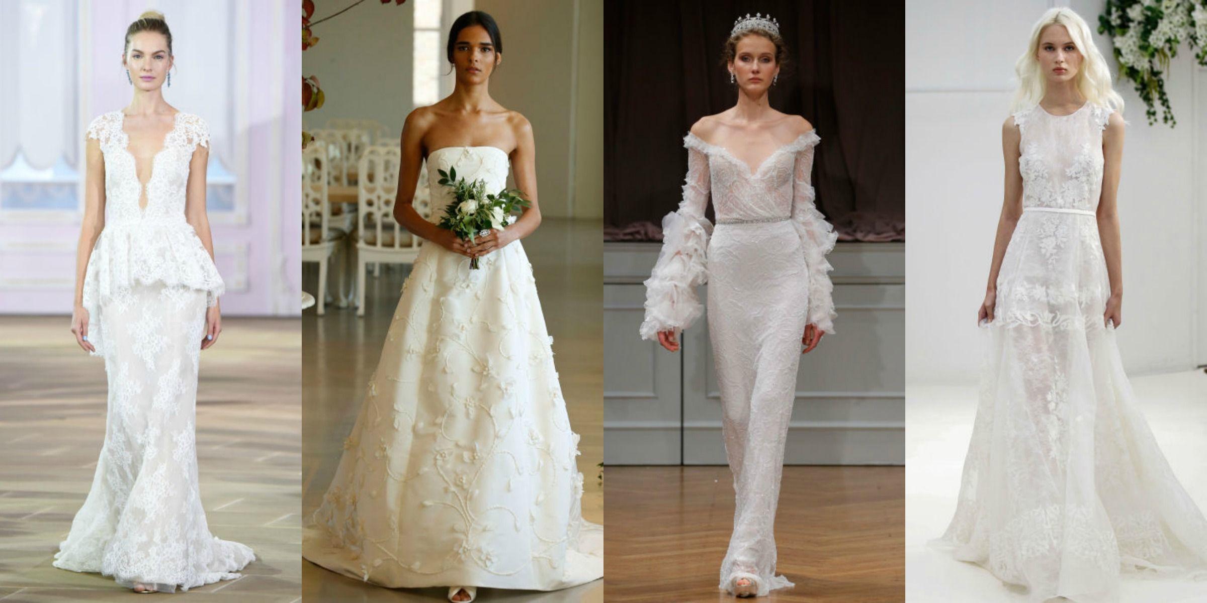 77db6d1aa36f8 50 abiti da sposa dalla Bridal fashion week di New York