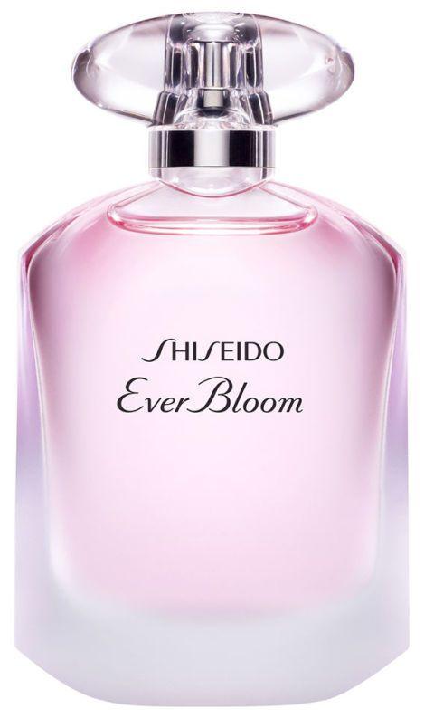 <p>Il debutto di ciclamino e peonia, diventa avvolgente con assoluta di fiori d'arancio e gardenia. Eau de Toilette Ever Bloom, <strong>Shiseido</strong> (da € 47,50).<br></p>