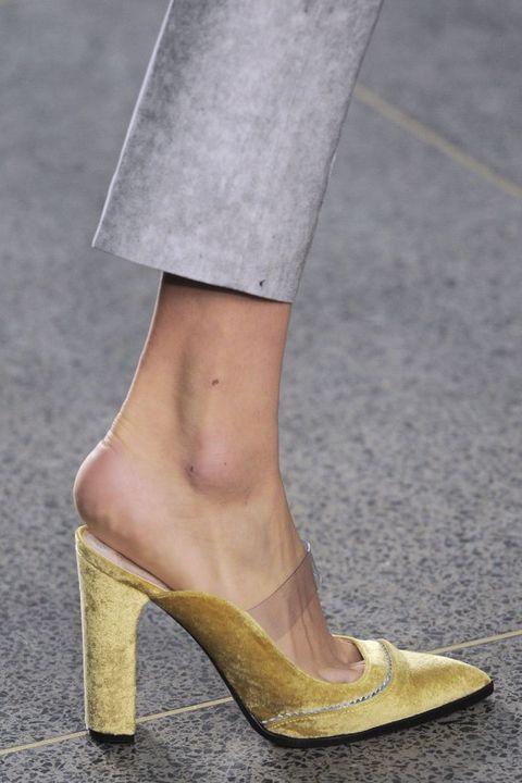 scarpe autunno inverno 2016 2017 london fashion week