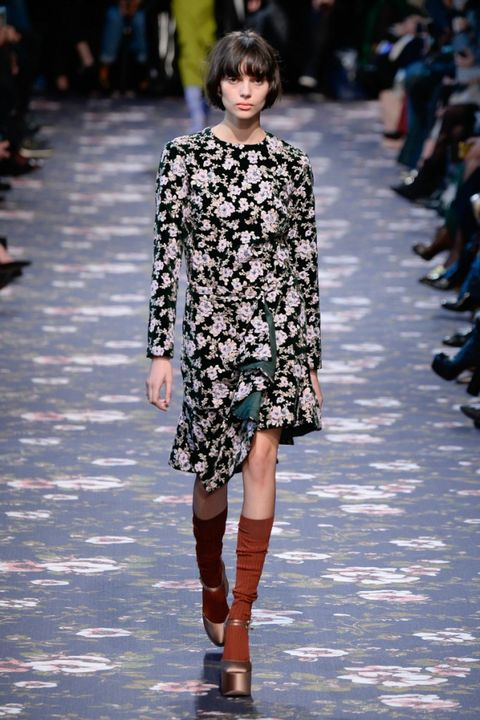 look alla moda per l'autunno inverno 2016 alla paris fashion week