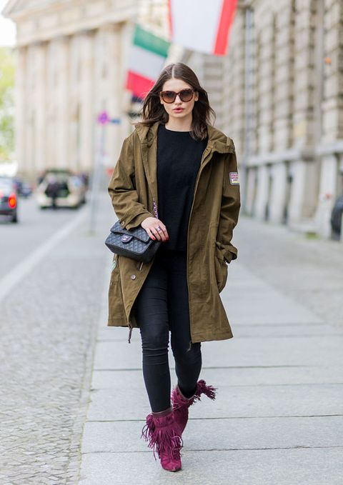 parka donna street style