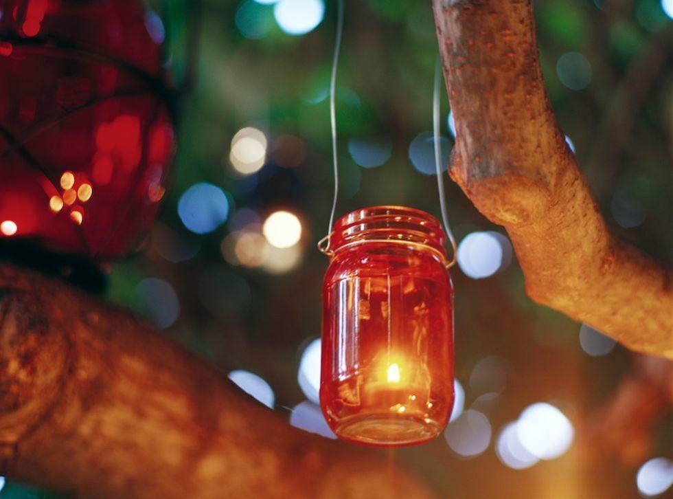 Portacandele Da Giardino : Lanterne portacandele fai da te idee facili