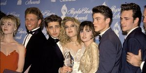 Beverly Hills 90210: il cast