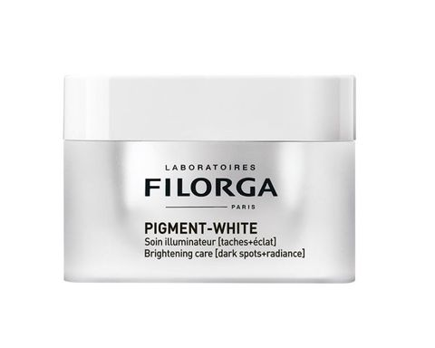 <p>Pigment White Soin Illuminateur, <strong>Filorga</strong> (€ 62)</p>