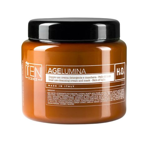 <p>AgeLumina Doppio Uso Crema detergente Maschera, <strong>TeN </strong>(€ 33)</p>