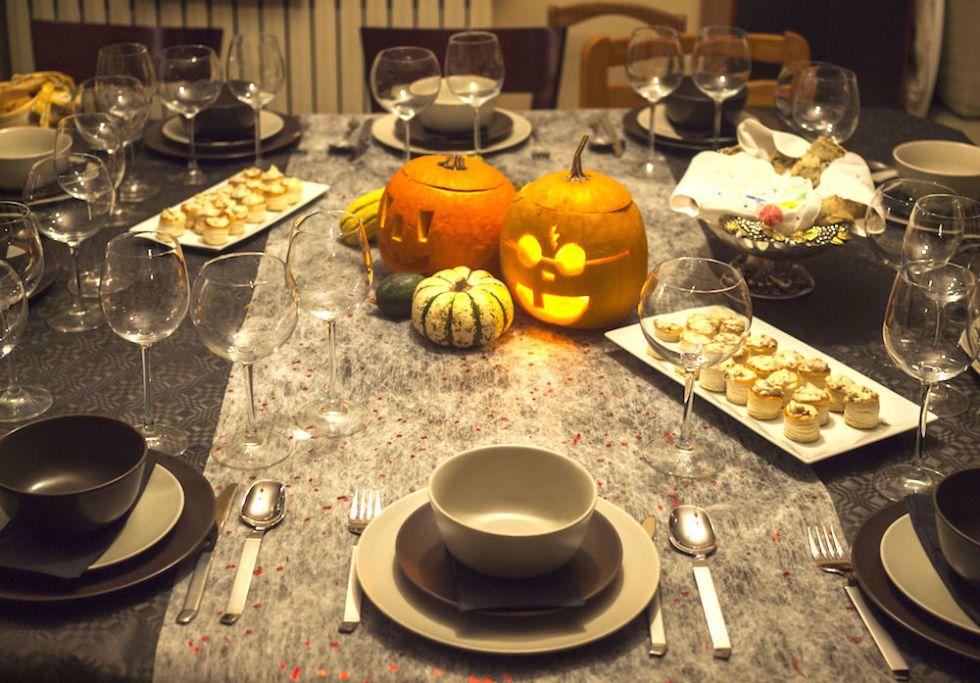 Decorazioni Tavola Halloween Fai Da Te : Halloween idee originali per decorare la tavola