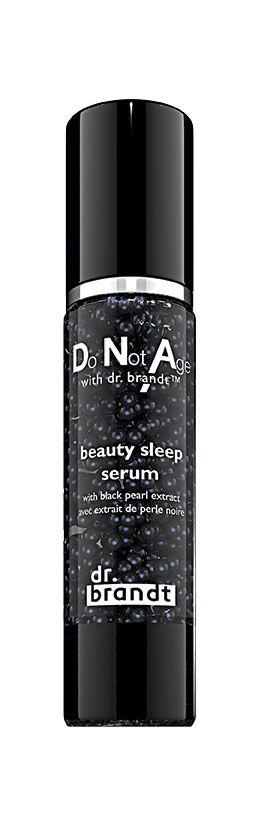 """<p>Superconcentrato notturno con <strong data-redactor-tag=""""strong"""">estratto di perla</strong> nera tahitiana  e plancton termale,  Do not Age with <strong data-redactor-tag=""""strong"""">Dr. Brandt </strong>Beauty Sleep Serum è un siero che elimina le tossine e <a href=""""http://www.elle.com/it/bellezza/viso-e-corpo/consigli/g381/cosmetici-occhi-per-sguardo-fresco/"""">leviga le rughe</a> (€ 121).</p>"""