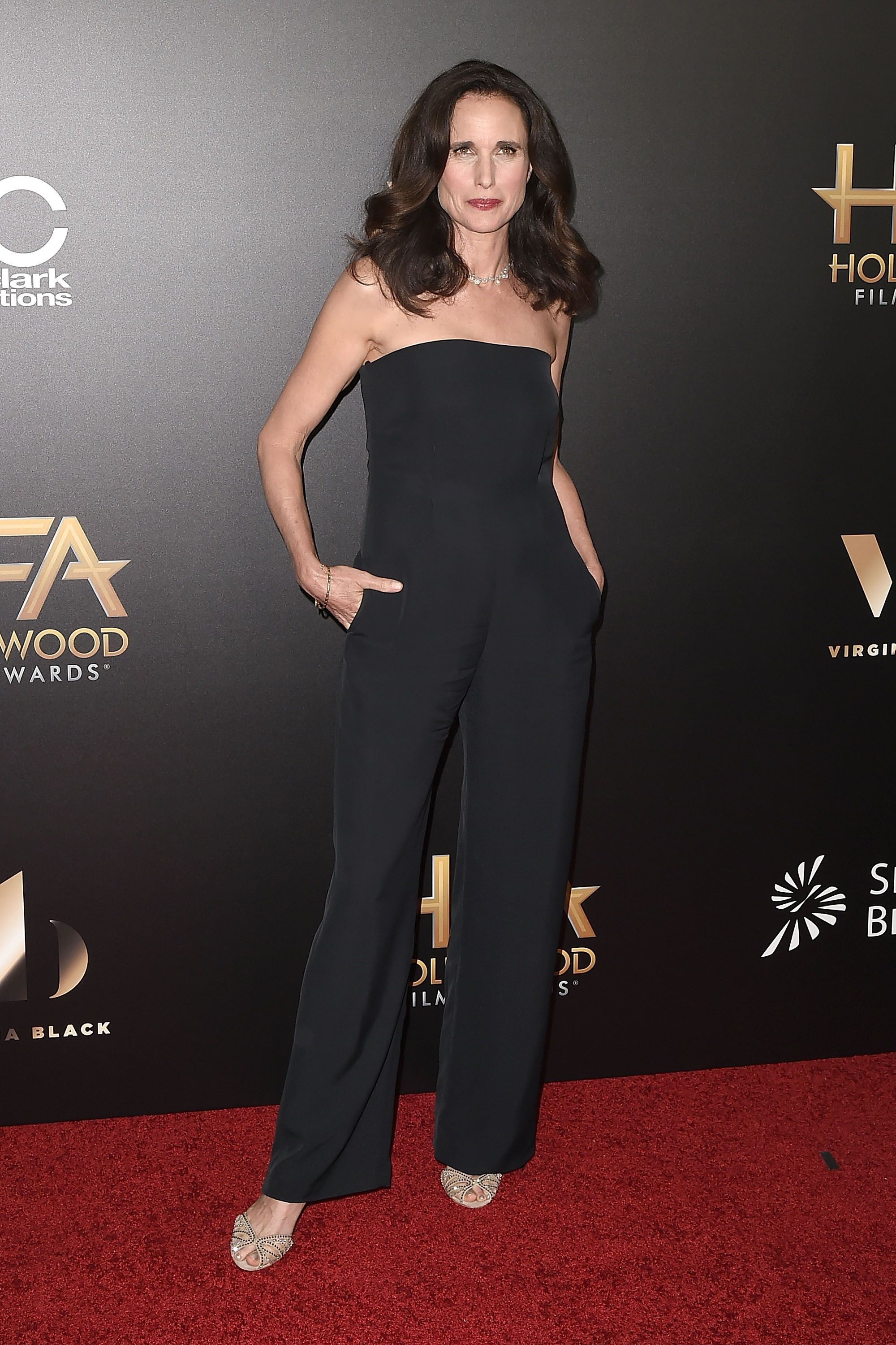 "<p>Andie MacDowell<span class=""redactor-invisible-space""></span></p>"