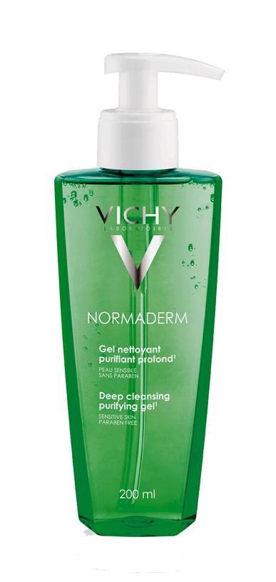 pulizia-viso-normaderm-gel-detergente-purificante-profondo-Gel-Nettoyant-Vichy