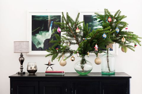 alberi di natale particolari per spazi piccoli