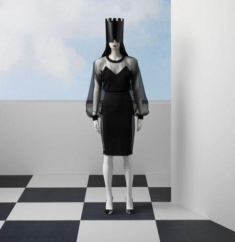 Jean Paul Gaultier per OVS: abito da sera moda autunno inverno 2016-2017