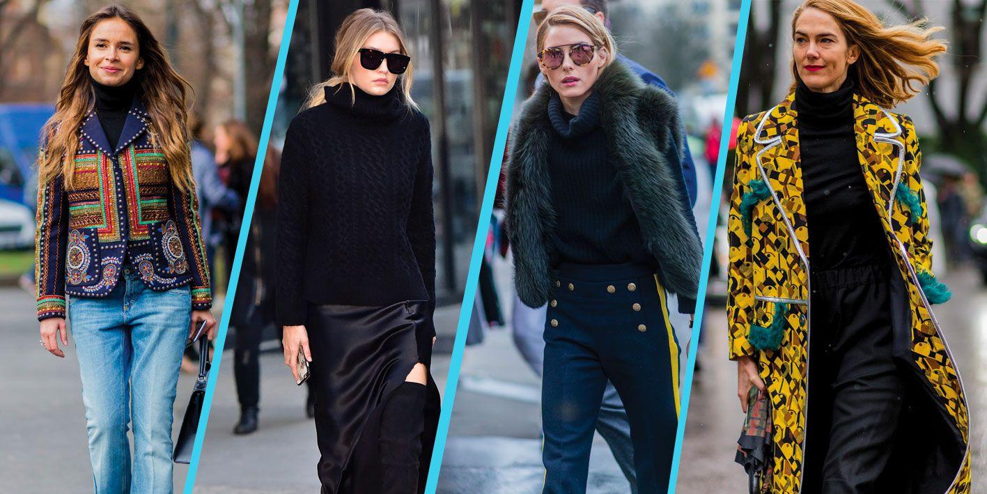 Outfit Ufficio Inverno 2016 : Come indossare la maglia dolcevita: 5 outfit invernali rubati alle vip