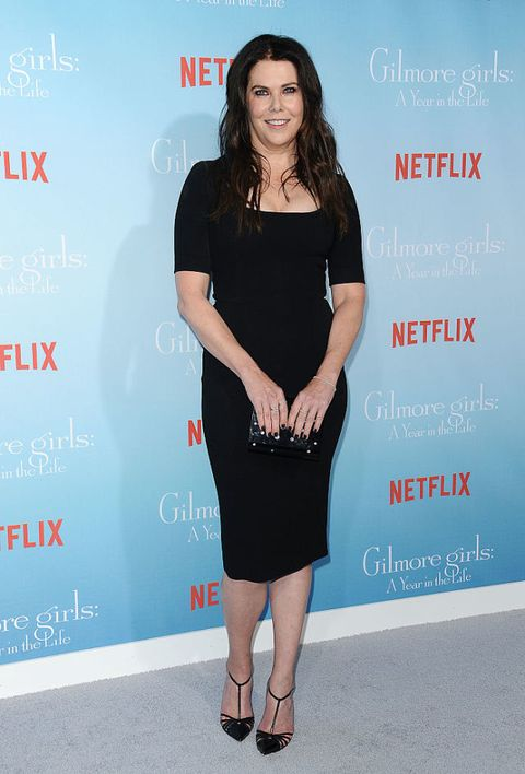 Una mamma per amica: il red carpet di Lauren Graham per Gilmore Girls