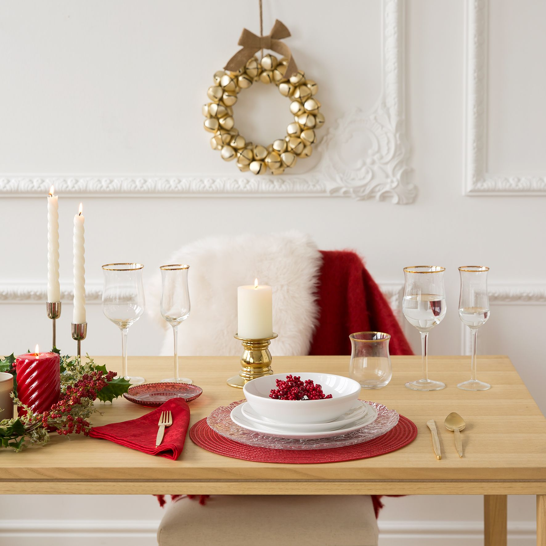 zara home decorazioni natalizie: ghirlande
