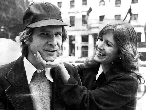 Carrie Fisher ha avuto una storia con Harrison Ford durante Star Wars