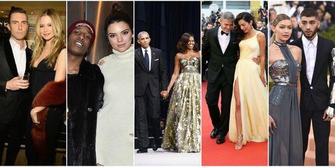 30 coppie famose che hanno fatto parlare di sé nel 2016