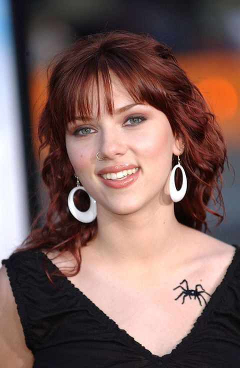 Scarlett Johansson: i look beauty