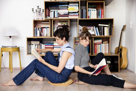 Leg, Shelf, Bookcase, Room, Shelving, Furniture, Flooring, Interior design, Comfort, Sitting,