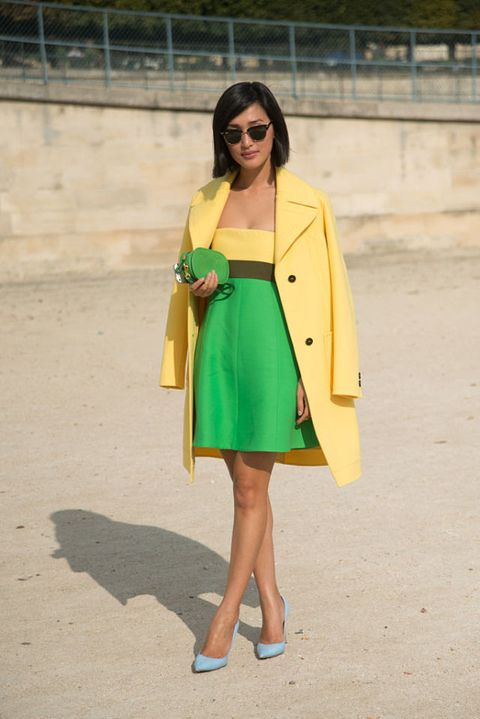 colore 2017 per pantone: il greenery per outfit street style