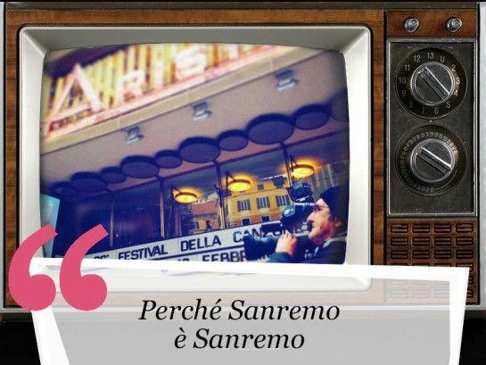 <p>Come non cominciare con la famosissima sigla del festival di Sanremo?</p>