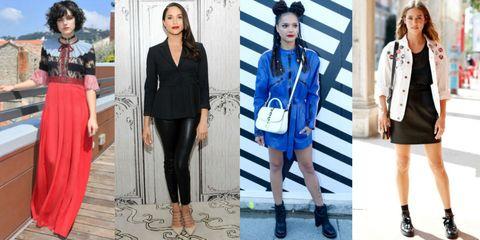Meghan Markle e Matilda Lutz fashion icon 2017