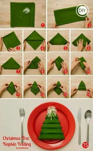 Come Piegare I Tovaglioli Di Carta Per Natale.Come Piegare I Tovaglioli 3 Idee Semplici Per La Tavola Di