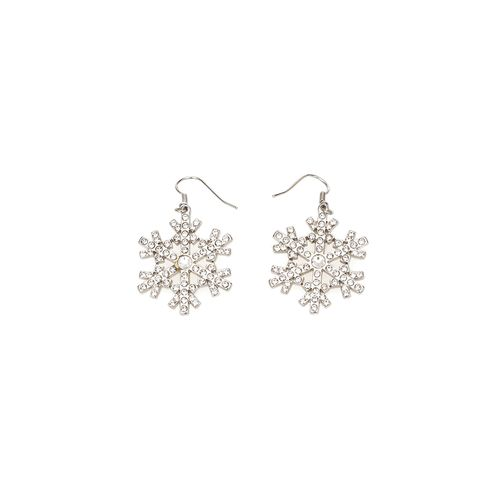 """<p>Orecchini fiocco di neve con strass, <strong data-redactor-tag=""""strong"""" data-verified=""""redactor"""">Blugirl</strong>.</p>"""