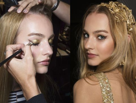 Trucco per Capodanno: 10 make up preziosi