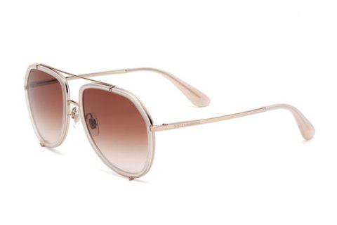 Ecco un paio di occhiali da sole trendy per la montagli di Dolce&Gabbana