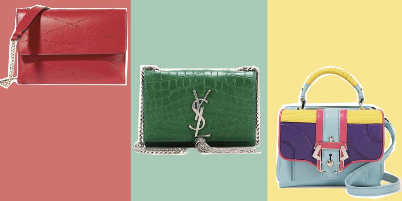 Saldi 2017: 10 borse di marca colorate da acquistare ora
