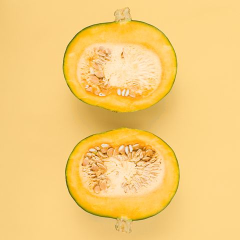"<p>From kabocha to acorn (and don't forget about butternut and spaghetti), there are many squash varieties to choose from for your winter meals. And ""all winter squash varieties are rich in vitamins A and C, plus&nbsp;they also contain anti-inflammatory omega-3 fatty acids,""&nbsp;says Miller. Some ideas to get started: ""Try pureed butternut or acorn squash in sauces, soups, chili, casseroles, or oatmeal. Or use spaghetti squash in place of regular spaghetti to save calories and carbohydrates (there are&nbsp;40 calories per cup of&nbsp;spaghetti squash versus 220 calories per cup regular spaghetti).""</p>"