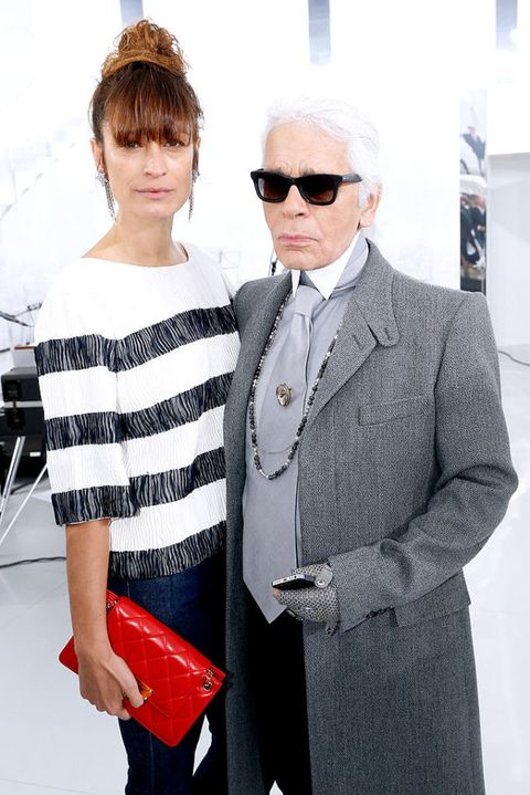"""<p>Con Karl&nbsp;Lagerfeld.<span class=""""redactor-invisible-space"""" data-verified=""""redactor"""" data-redactor-tag=""""span"""" data-redactor-class=""""redactor-invisible-space""""></span></p>"""