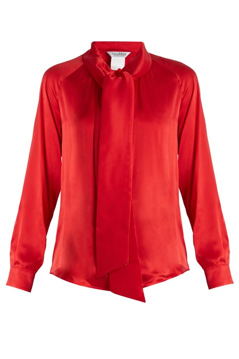 ruffled blouses, romantic blouses, pink blouses, red blouses, shirts, tops