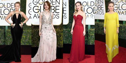 look più belli sul red carpet dei golden globes 2017