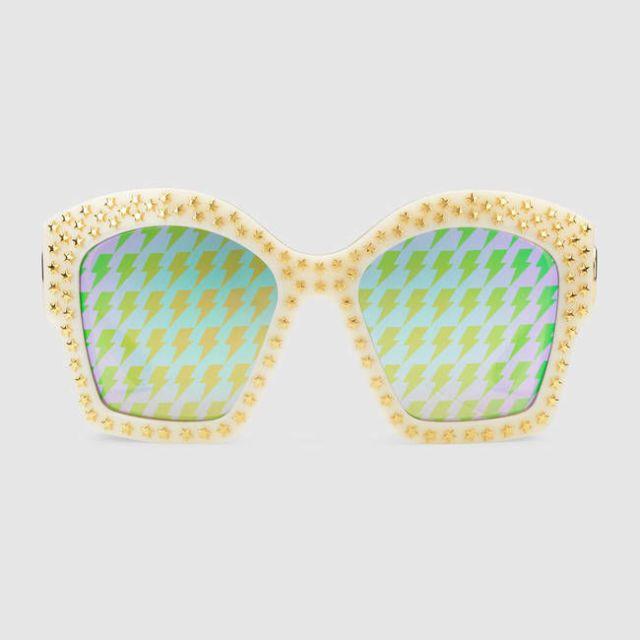 Gli occhiali da sole a specchio da donna pi belli for Pubblicita occhiali da sole